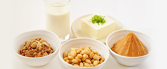 様々な大豆製品